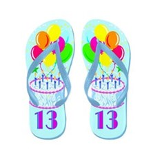 GORGEOUS 13TH Flip Flops