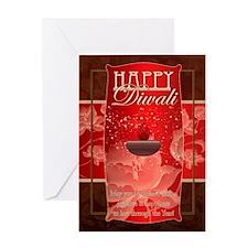 Stylish Diwali Greeting Card