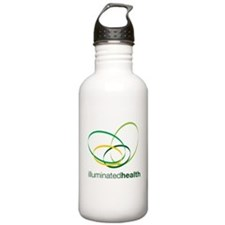 Illuminated Health Logo Sports Water Bottle
