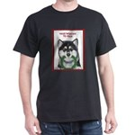 Malamute and sled team Dark T-Shirt