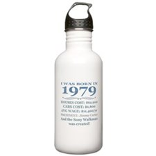 Birthday Facts-1979 Water Bottle