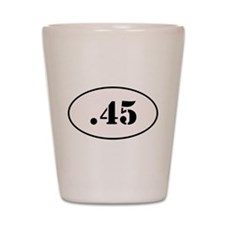 .45 Oval Design Shot Glass