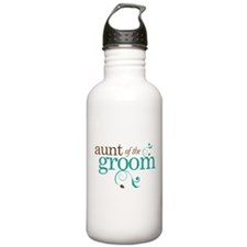 Aunt of the Groom Gift Sports Water Bottle