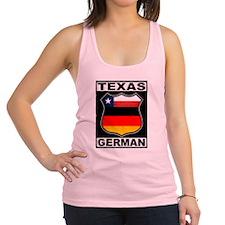 Texas German American Racerback Tank Top