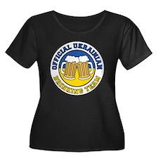 Ukrainian Drinking Team Plus Size T-Shirt