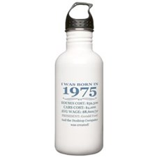 Birthday Facts-1975 Water Bottle