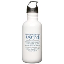 Birthday Facts-1974 Water Bottle