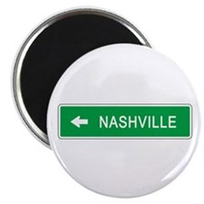"Roadmarker Nashville (TN) 2.25"" Magnet (100 pack)"