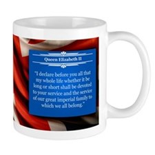 Queen Elizabeth Historical Mugs