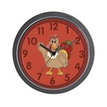 Turkey Wall Clock Wall Clock