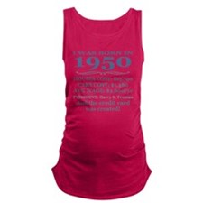 Birthday Facts-1950 Maternity Tank Top