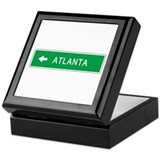 Roadmarker Atlanta (GA) Keepsake Box