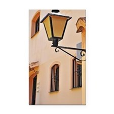 Street lamp post Rectangle Car Magnet