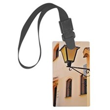 Street lamp post Luggage Tag