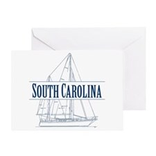 South Carolina - Greeting Card