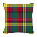 Tartan - Buchanan Woven Throw Pillow