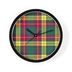 Tartan - Buchanan Wall Clock