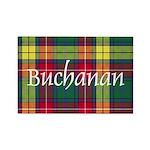 Tartan - Buchanan Rectangle Magnet