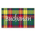 Tartan - Buchanan Sticker (Rectangle 10 pk)
