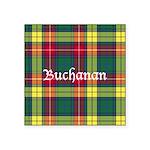 Tartan - Buchanan Square Sticker 3