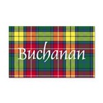 Tartan - Buchanan Rectangle Car Magnet