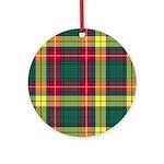 Tartan - Buchanan Ornament (Round)