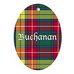 Tartan - Buchanan Ornament (Oval)