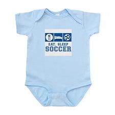 Eat, Sleep, Soccer Body Suit