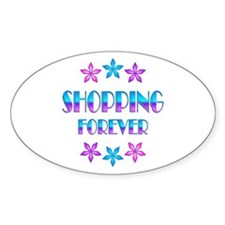 Shopping Forever Decal