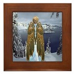 Angel : Winterland : Framed Tile