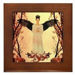 Angel : of the Orient : Framed Tile
