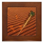Angel Feather : Framed Tile