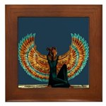 Angel : Egypt : Framed Tile
