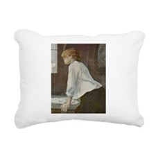 Toulouse-Lautrec The Laundress Rectangular Canvas