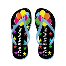 FABULOUS 17TH Flip Flops