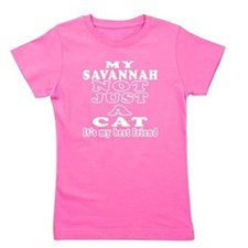 Savannah Cat Designs Girl's Tee