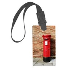 British postbox Luggage Tag