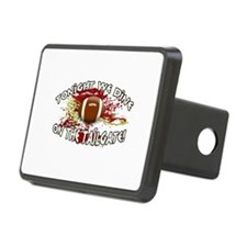 Tonight we dine on the tailgate! Hitch Cover
