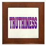 Truthiness Framed Tile