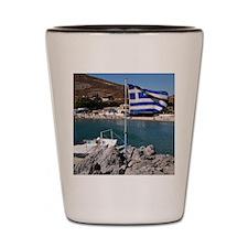 Pserimos island Shot Glass