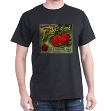 Vintage Fruit Vegetable Crate Label T-Shirt