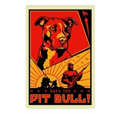 Obey the Pit Bull! Postcards (Pack of 8)