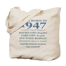 Birthday Facts-1947 Tote Bag