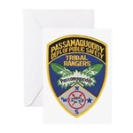Passamaquoddy Ranger Greeting Cards (Pk of 10)