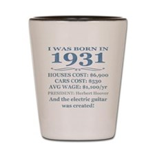 Birthday Facts-1931 Shot Glass