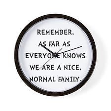 Normal Family Wall Clock