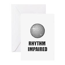 Rhythm Impaired Greeting Cards