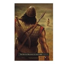 David and Goliath Postcards (Package of 8)