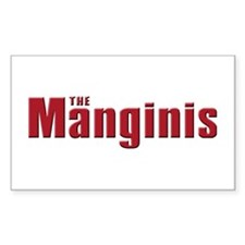 The Mangini family Rectangle Decal