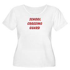 School Crossing Guard Plus Size T-Shirt